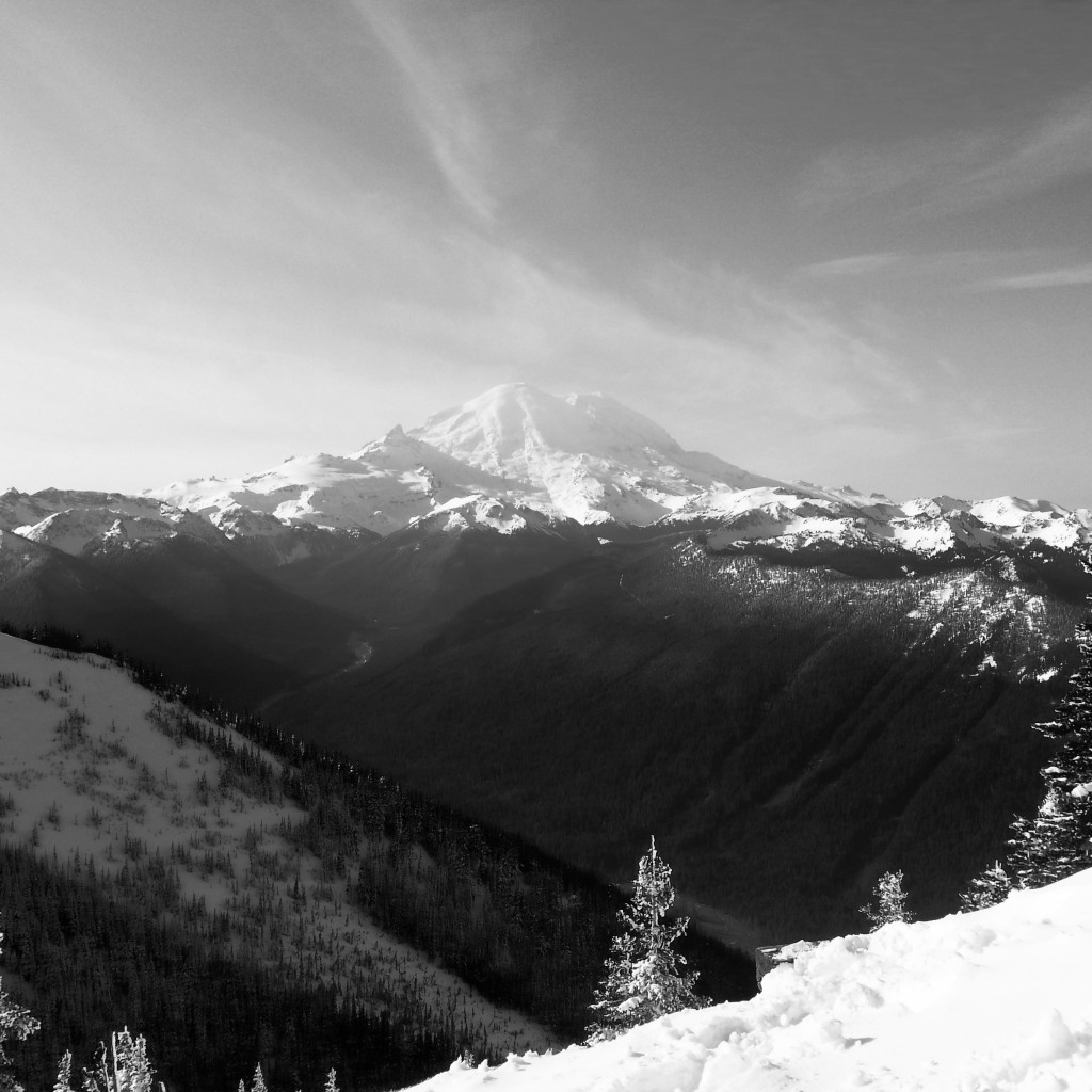 Rainier in it's glory from Crystal.